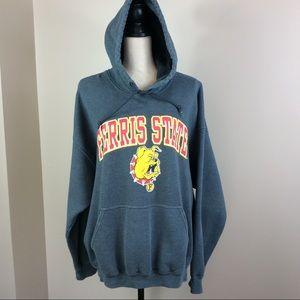 Ferris State University Bulldogs Hoodie Sz XL